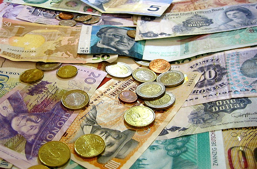 Foreign-currency-and-coins-by-bradipo