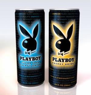 В США выпущен энергетический напиток Playboy.