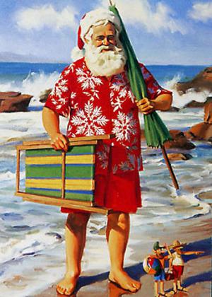 Beach_santa
